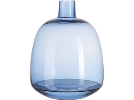 Image of   A Simple Mess Vase Aegean blue - 22 cm