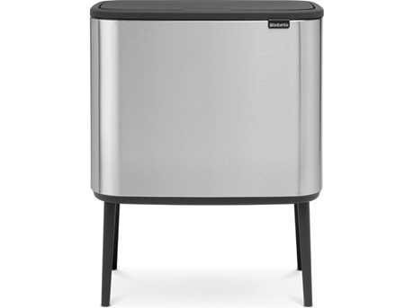 Image of   Brabantia Pedalspand BO Mat stål l