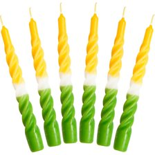 Candles with a Twist Lys - 6 stk.