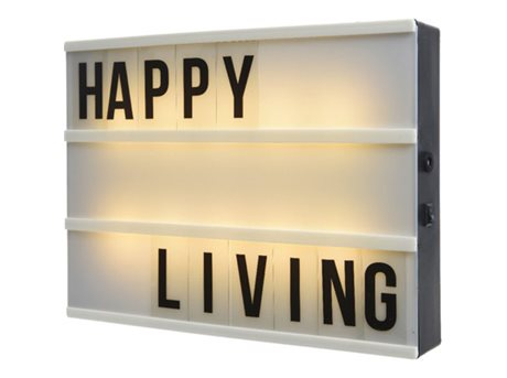 Image of   Casa Living LED Lysbox - Stor