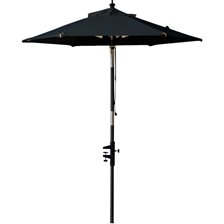 Cinas Outdoor Nero Balcony Parasol
