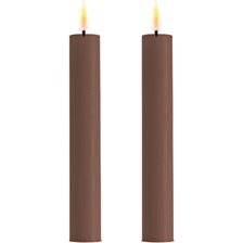 Deluxe Homeart Real Flame LED Kronelys