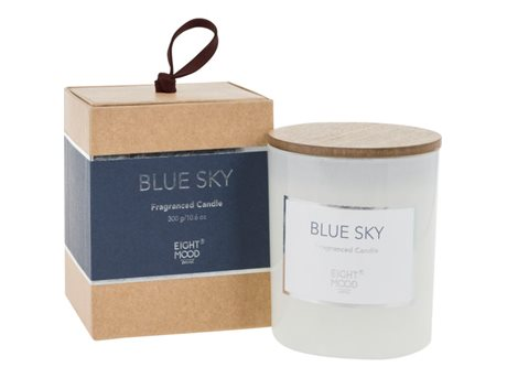 Eightmood Blue Sky  Duftlys Hvid, Indigo, Natur