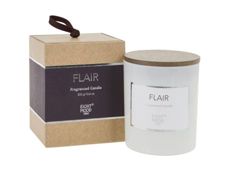 Eightmood Flair  Duftlys Hvid, Lilla, Natur