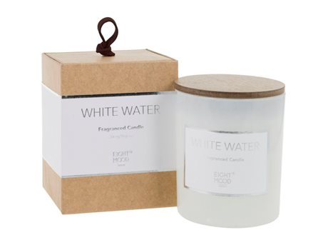 Eightmood White Water  Duftlys Hvid, Natur
