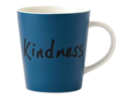 Image of   Ellen DeGeneres by Royal Doulton ED Krus Kindness Blå, Hvid 47,5 cl 1 stk.