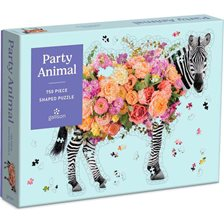 Galison Party Animal Puslespil