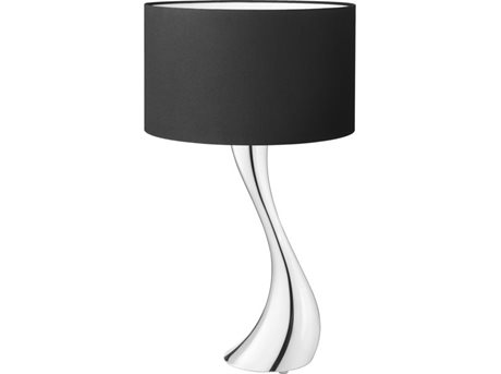 Image of   Georg Jensen Bordlampe Sort 56 x 35 cm