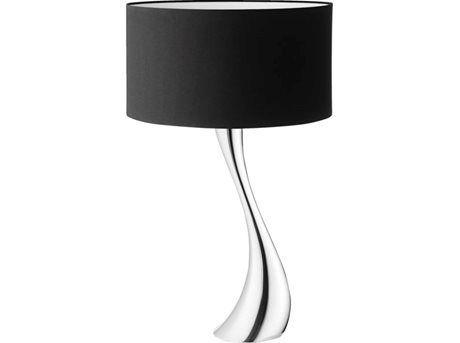 Image of   Georg Jensen Bordlampe Sort 72,5 x 42 cm