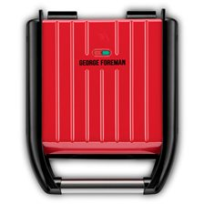 George Foreman Steel Compact Grill