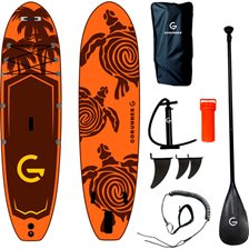 GoRunner Sup Turtle Stand-Up-Paddleboard - 8 dele