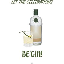 Hipd Plakat Let The Celebrations Be'Gin