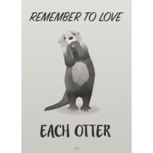Hipd Plakat Remember To Love Each Other
