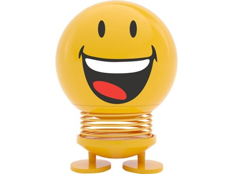 Image of   Hoptimist Figur Smiley Joy ABS-plastik Gul