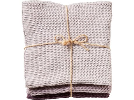 Imerco Home Karklud Dusty rose 30 x 30 cm 3 stk.