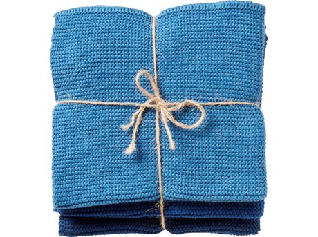 Image of   Imerco Home Karklud Midnight Blue 30 x 30 cm 3 stk.