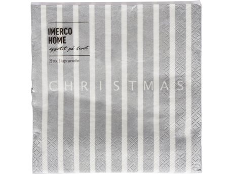 Imerco Home Servietter Christmas - 20 stk.