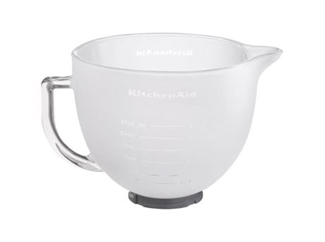 Image of   KitchenAid Artisan Røreskål Frosted Glass