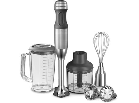Image of   KitchenAid Stavblender Stål
