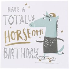 Kort - Have a totally horseome birthday