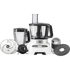 OBH Nordica Double Force White Foodprocessor