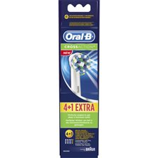 Oral-B CrossAction Tandbørstehoved - 5 stk.