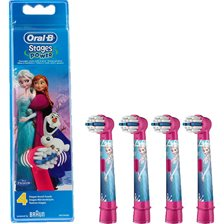 Oral-B Frozen Tandbørstehoved - 4 stk.