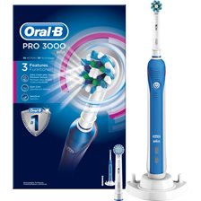 Oral-B Pro 3000 CrossAction Elektrisk Tandbørste