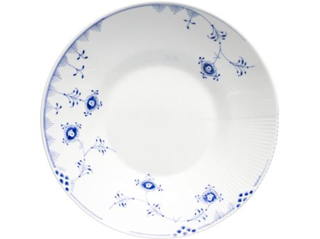 Image of   Royal Copenhagen Blå Elements Dyb tallerken 25 cm