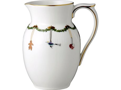 Image of   Royal Copenhagen Stjerne Riflet Jul Kande 0,7 liter