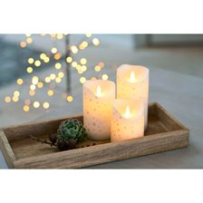 Sirius Sara Exclusive Romantic LED Bloklys - 3 stk.