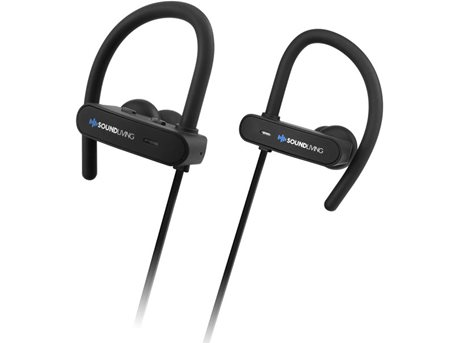 Soundliving SL77 ACTIVE Høretelefoner Sort
