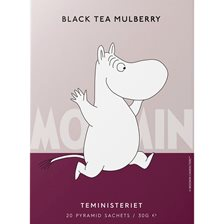 Teministeriet Moomin Black Tea Mulberry Teposer - 20 stk