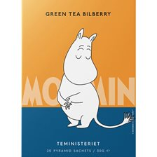 Teministeriet Moomin Green Tea Bilberry Tepose - 20 stk