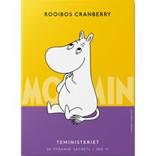 Teministeriet Moomin Rooibos Cranberry Tepose - 20 stk