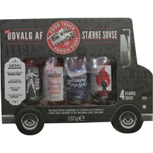 The Modern Gourmet Hot Sauce Food Truck - 4-pak