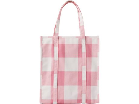 Image of   Tivoli Mega Check Shopping Bag 36 x 30 x 18 cm - Candy.
