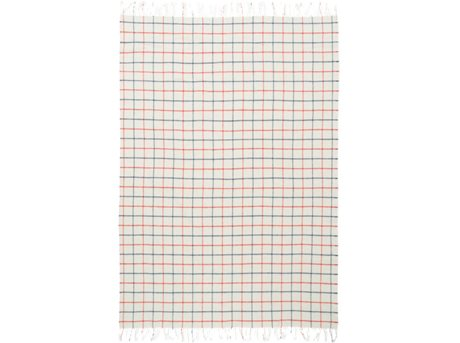 Image of   Tivoli Simple Check Plaid B 130 x L 200 cm - Varm Grå