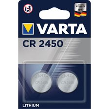 Varta CR 2450 Batteri - 2 stk.