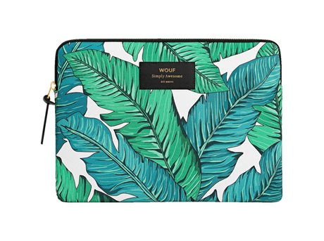 Image of   Wouf Tropical iPad sleeve - H 16,9 x 24 cm - Tropical